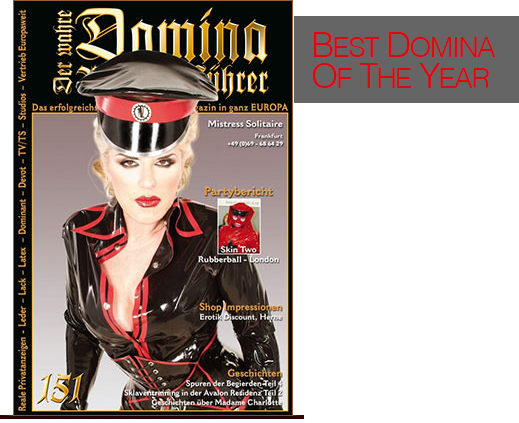 Domina of the year